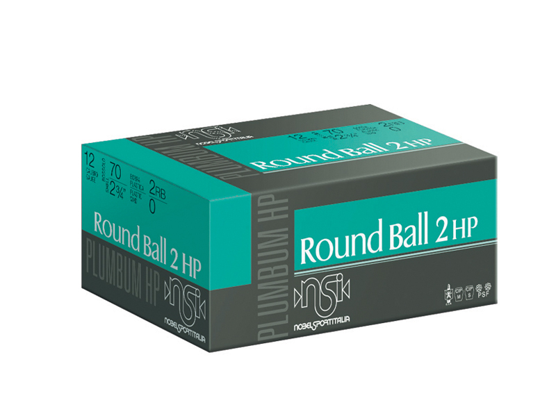 BUFFERED ROUND BALL 2-βολο BBSB HP 12/70/23