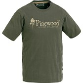 9445-T-SHIRT SUEDE PINEWOOD