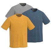 5448 3-PACK OUTDOOR COL T-SHIRT PINEWOOD