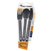 ALPHALIGHT CUTLERY SET 3PC (KNIFE, FORK AND SPOON)