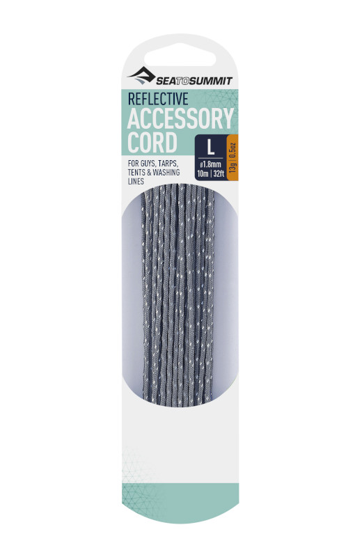 REFLECTIVE ACCESSORY CORD 3.0MM THICKNESS - 5 METRE LENGTH